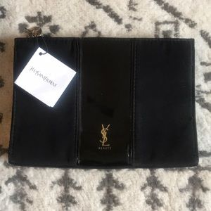 YSL travel cosmetic bag